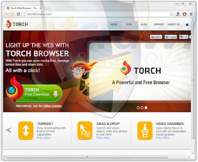 تحميل المتصفح تورش مجانا Torch Browser