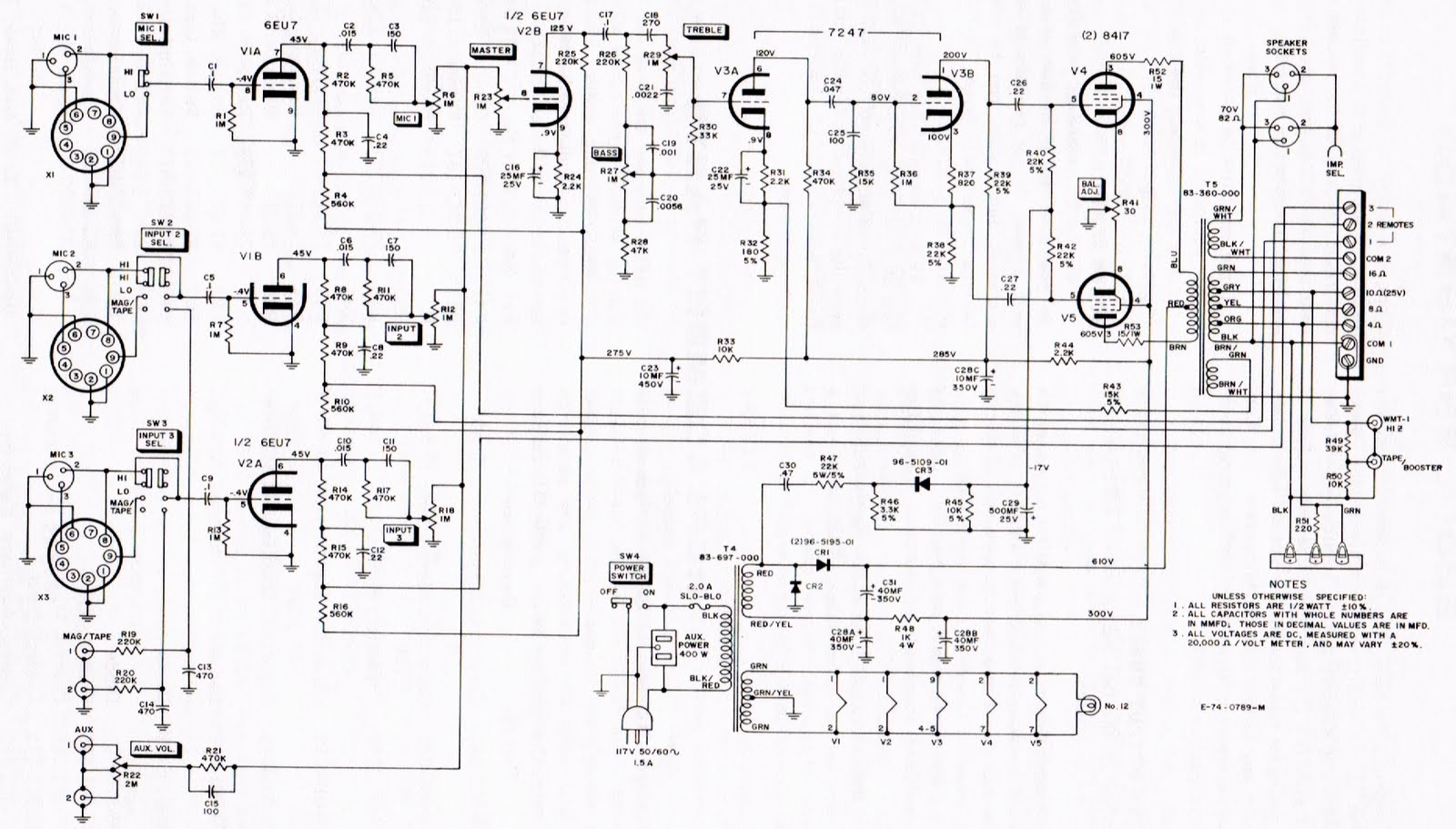 Pa Systems Schematics