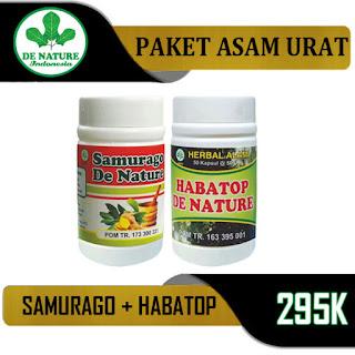 Samurago dan Habatop de nature, Obat asam urat herbal untuk ibu menyusui