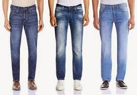 Flat 60% – 80% Off – Men's Jeans (Wrangler | Peter England | Flying Machine | U.S. Polo Assn. |  Pepe Jeans | Spykar) @ Amazon
