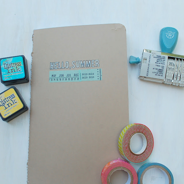 Summer Travel Journal Hot Wheels and Glue Guns Little Summer Joy