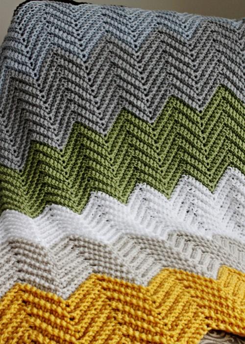 Beautiful Skills Crochet Knitting Quilting Crochet Chevron