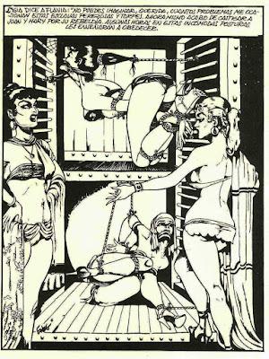 la princesa elaine de eneg,un clásico del comic BDSM