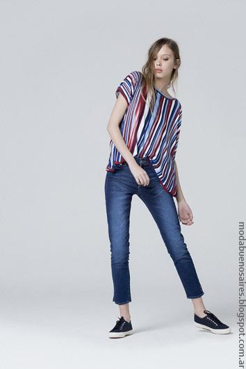Moda verano 2017 ropa de mujer verano 2017.