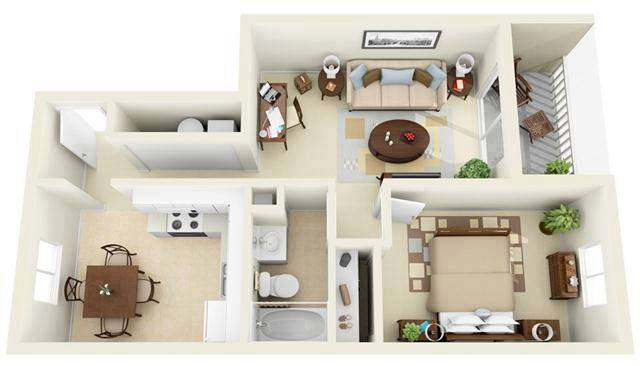 Desain rumah minimalis tapi tetap cantik dan terlihat luas