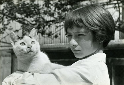 Cats Protection young volunteer in 1960s