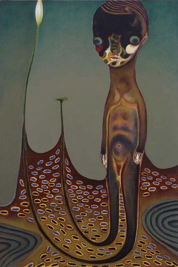 Izumi Kato - Untitled - 2009 | imagenes de obras de arte contemporaneo tristes, lindas, de soledad | cuadros, pinturas, oleos, canvas art pictures, sad | kunst | peintures