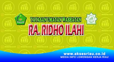 RA Ridho Ilahi Pekanbaru