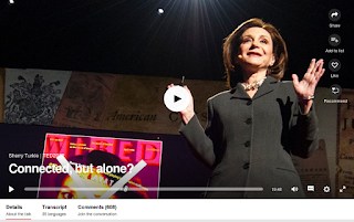 https://www.ted.com/talks/sherry_turkle_alone_together