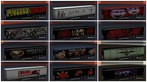 Mötley Crüe trailers pack