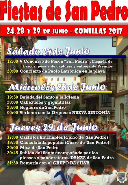 Fiestas de San pedro en Comillas 2017