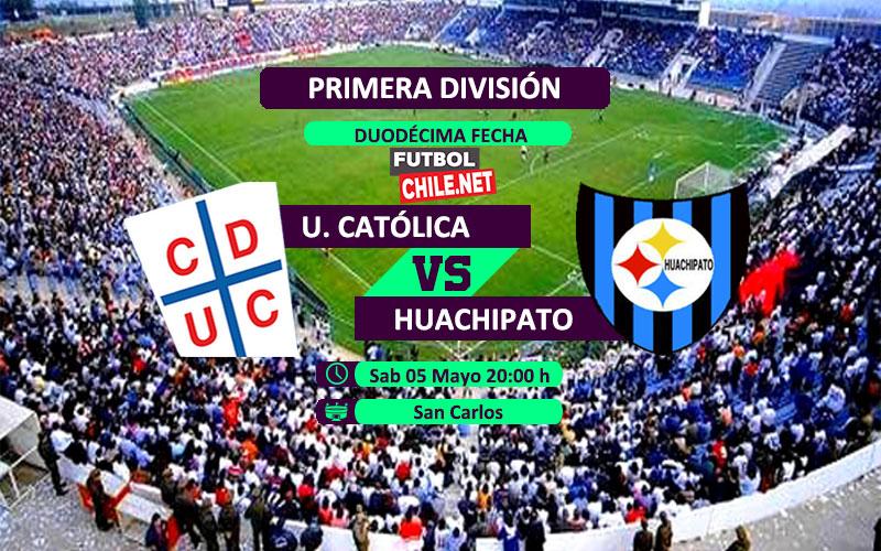 Mira Universidad Católica vs Huachipato en vivo y online desde las 20:00 h por la Primera División