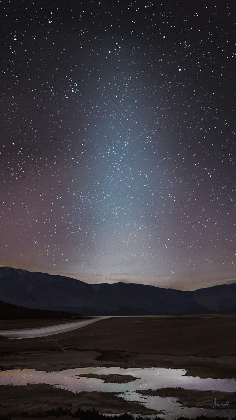 Death Valley by Alena Aenami