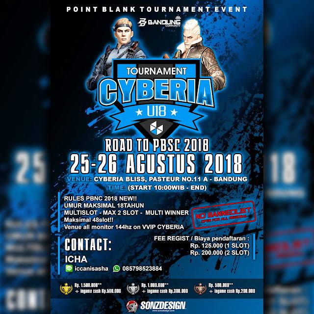 Cyberia Point Blank Tournament U18