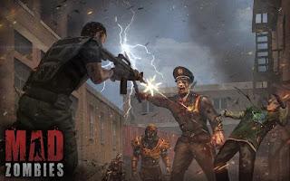 تحميل لعبة mad zombies مهكرة من ميديا فاير