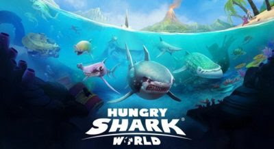 Hungry Shark World Mod v1.8.4 Apk [Unlimited Money]