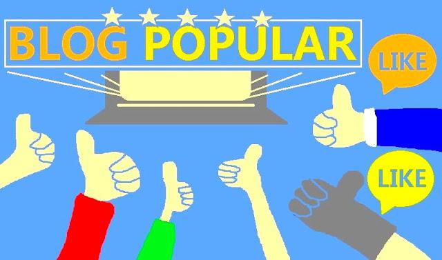 WEB BLOG POPULAR POPULER TERKENAL