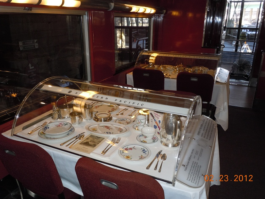 the santa fe railroad dining car china western trips. Black Bedroom Furniture Sets. Home Design Ideas