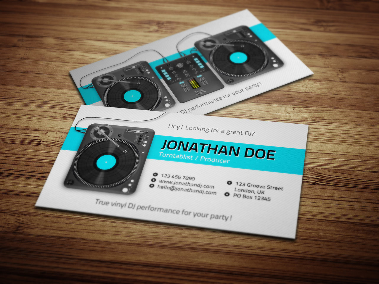 Dj business cards business card tips dj business card template psd free download creative dj business cards free printable dj cheaphphosting Gallery