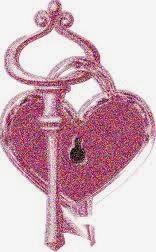 corazon con llave
