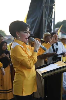 Tetty Paruntu Ajak Pendukung Dan Simpatisan Partai Golkar Untuk Menangkan Joko Widodo-Ma'aruf Amin