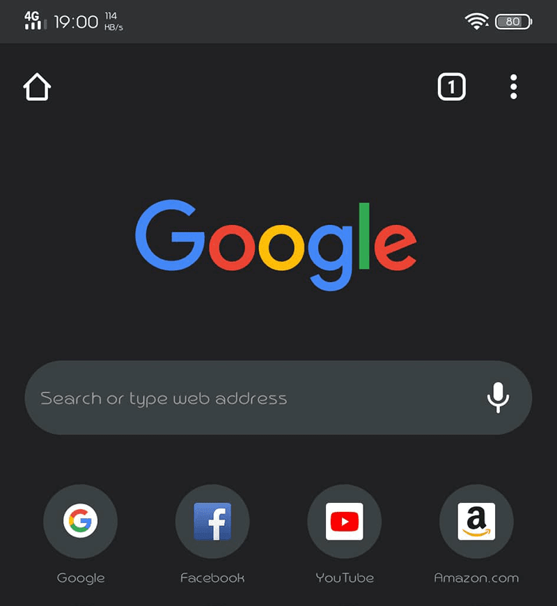 Google adds Dark Mode to Chrome for Android devices