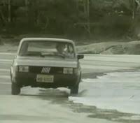 Campanha de lançamento do Spazio: evolução do Fiat 147 nos anos 80.