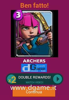 Soluzioni Quiz Clash Royale card livello 30