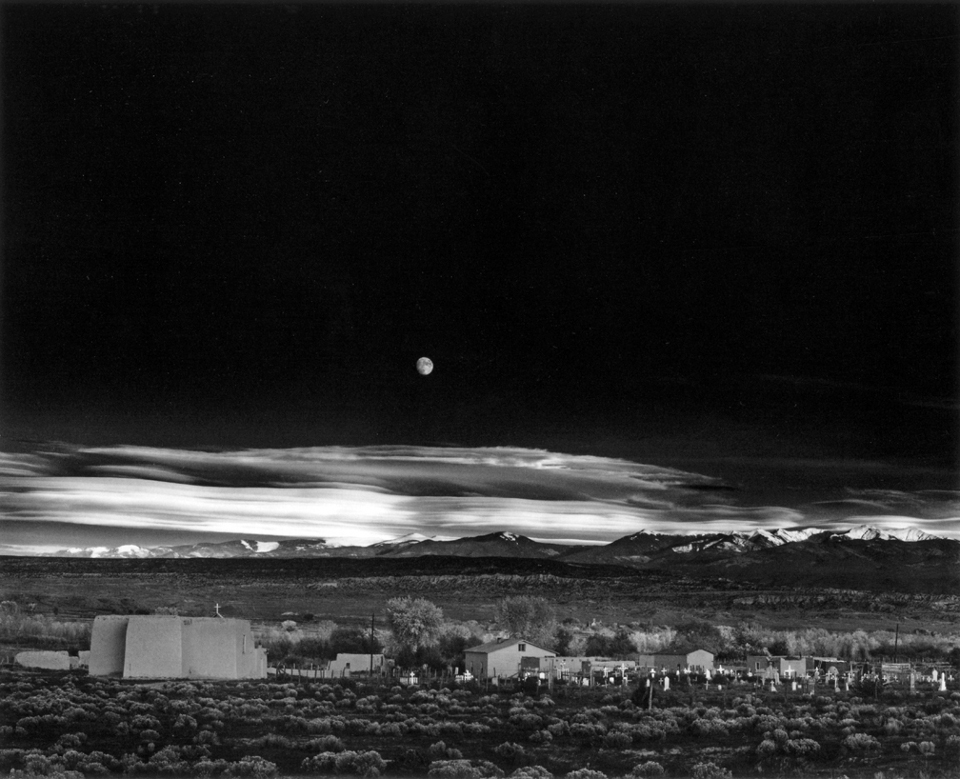 Obra de Ansel Adams Ansel Adams Clearing Winter Storm Wiki