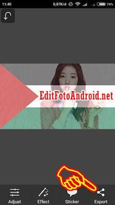 Aplikasi edit foto bendera Palestina #savePalestine
