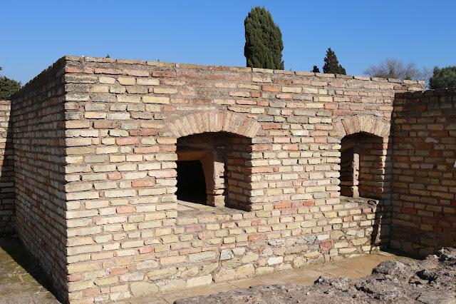 Horno de pan romano