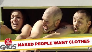 Funny Video – Naked & Afraid – Just For Laughs Gags