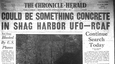 Mystery Donor Saves Shag Harbour UFO Festival