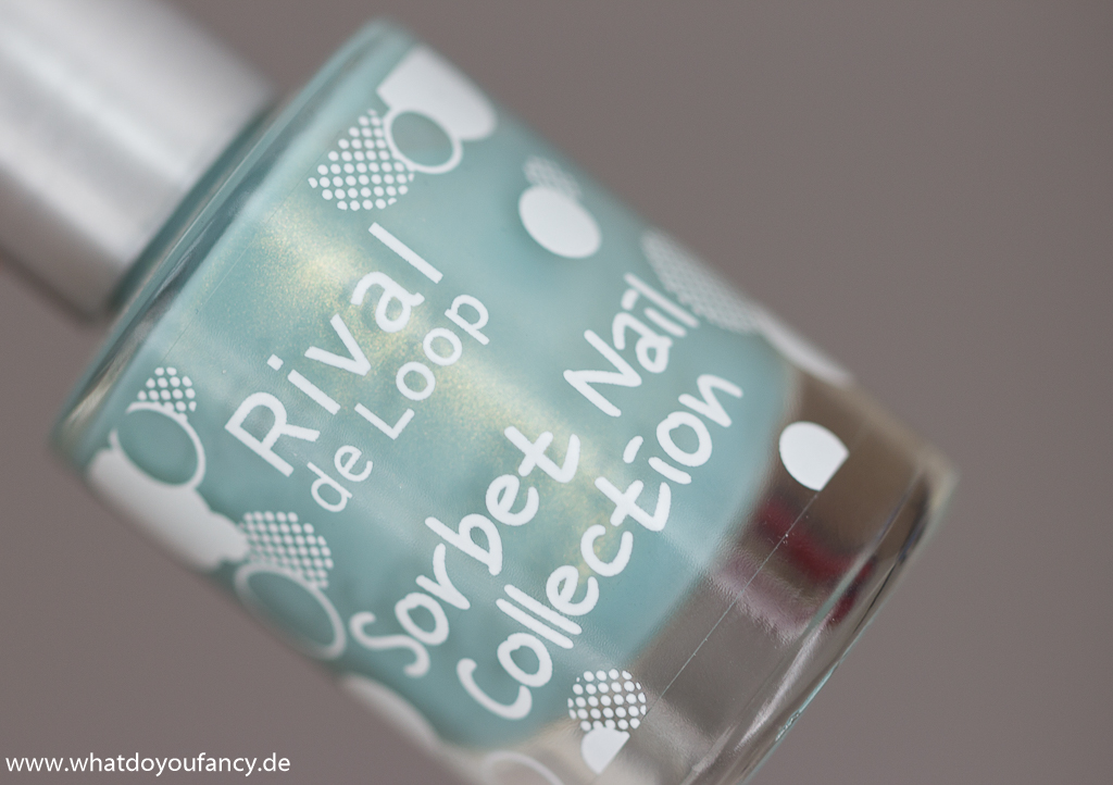 Rival de Loop Cool Mint Sorbet Nail Collection Frühjahr 2014