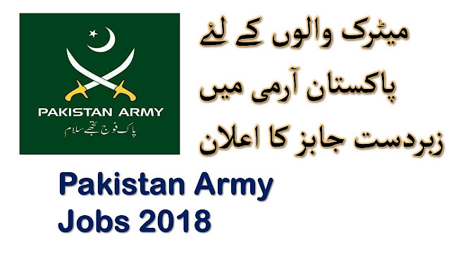 Pakistan Army General Head Quarter -Apply Now In Pakistan Army Jobs 2019
