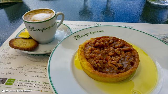 Tartaleta y Café en Jardines de Marqueyssac - Vezac, Francia por El Guisante Verde Project