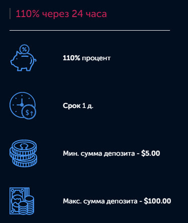 Инвестиционные планы Coinbit-Games LTD