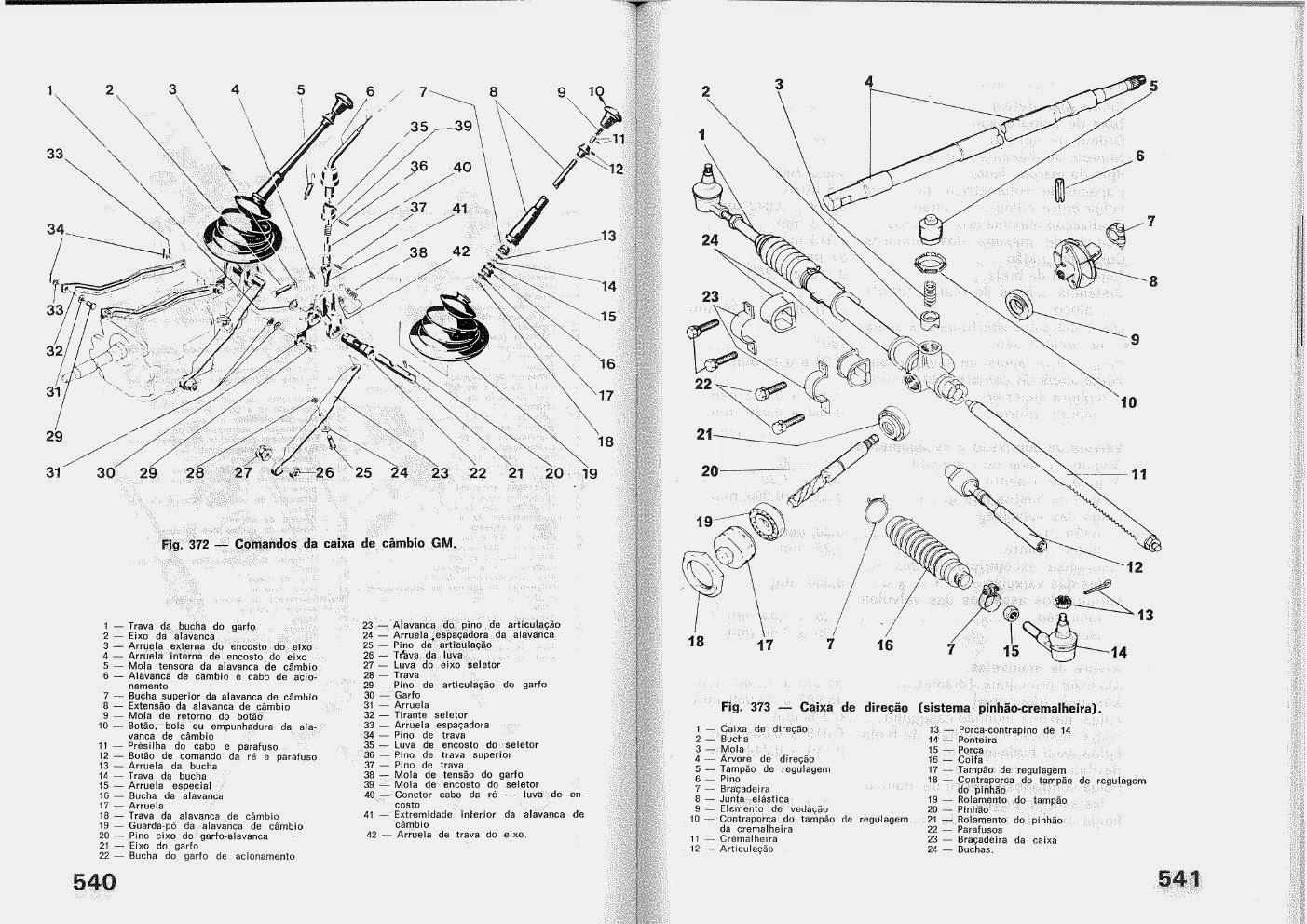 MANUAIS DO PROPRIETÁRIO: Manual Mecânico GM OPALA