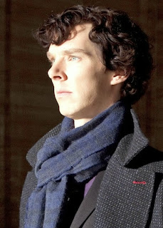 Benedict Cumberbatch as Sherlock Holmes in BBC Sherlock The Great Game Canonical References