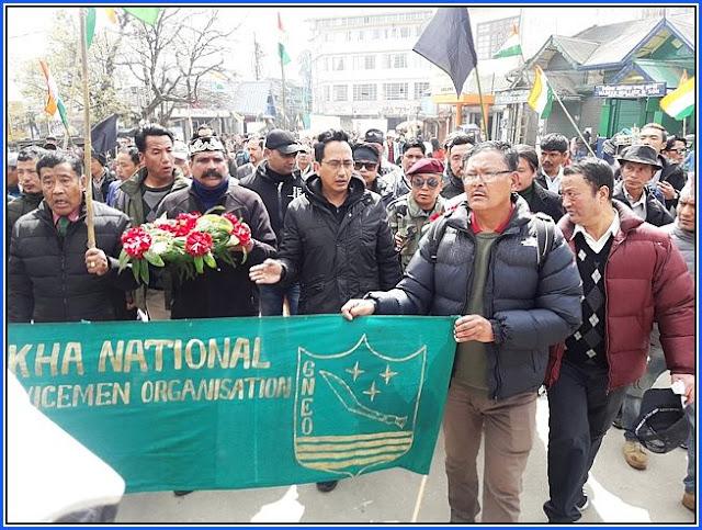 GNLF Gorkha National Ex-servicemen Organisation