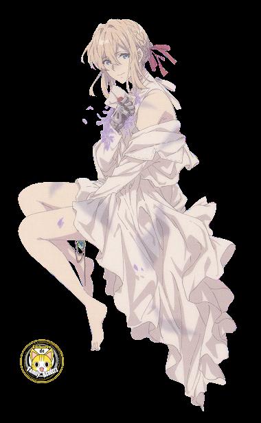 render Violet Evergarden Violetas