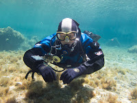 Sidemount diving in cyprus