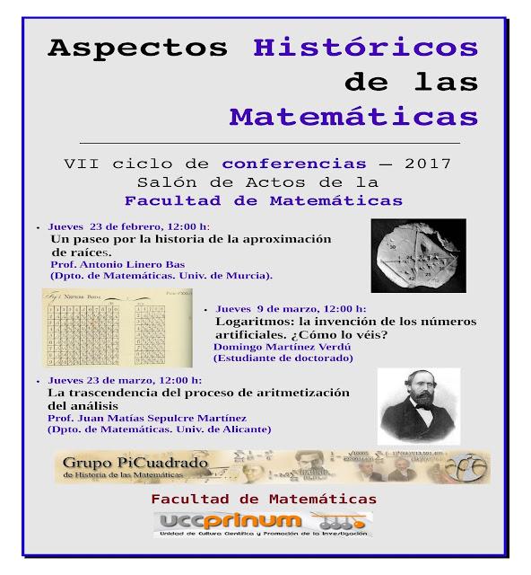 Logaritmos: la invención de los números artificiales. ¿Cómo lo véis?