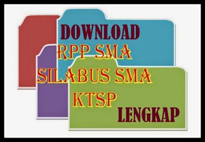 Download RPP & Silabus SMA KTSP  Lengkap
