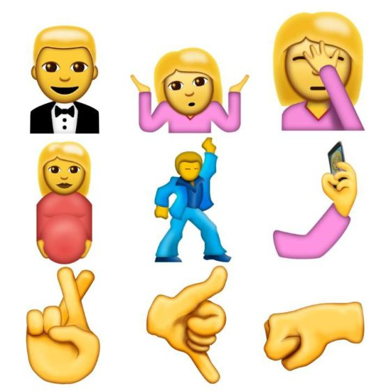 newly approved face emoji