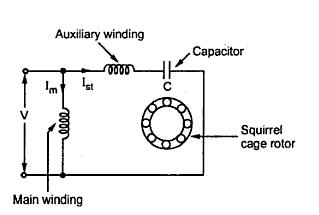 capacitor run motors diagrams