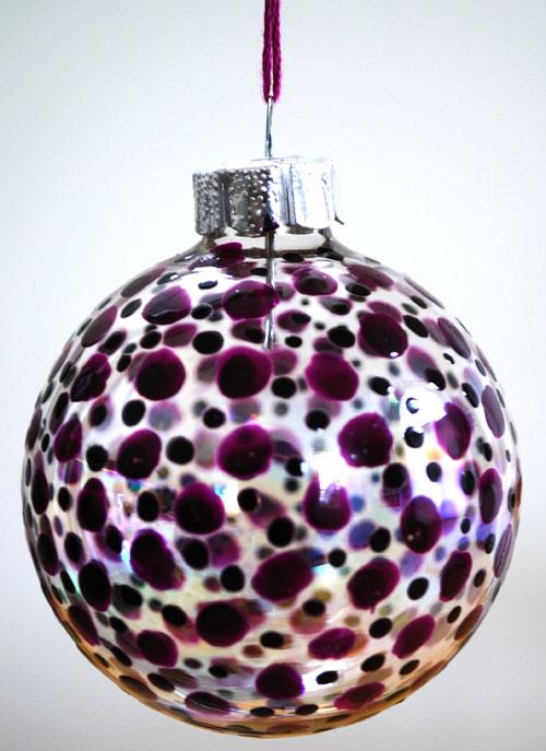 Homemade Christmas Tree Ornament