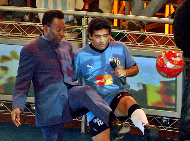 Maradona: The award that Fifa gave Pele isn't worth sh*t, I am the player of the Century