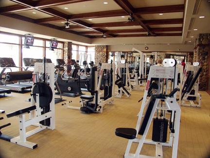Phòng tập Gym chung cư Eco Lake View Hoàng Mai