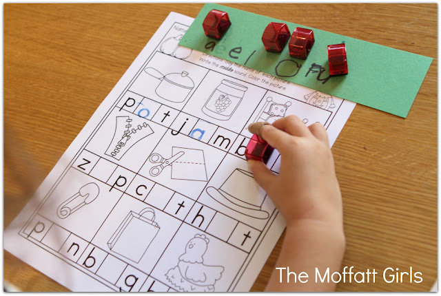 Teach basic addition, subtraction, sight words, phonics, letters, handwriting and so much more with the October NO PREP Packet for Kindergarten!